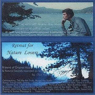The Retreat Album: A blend of music and natural sounds recorded on location by Brad Kalita. All music and arrangements by Brad Kalita. Instruments and vocals performed and recorded by Brad Kalita. Original artwork and prose by brad kalita, owner and dreamer behind gathering light ... a retreat offering cabins, tree houses, vacation rentals and rv camping in southern oregon near crater lake national park and klamath basin birding trails. Album layout and design by Gloria McCracken.