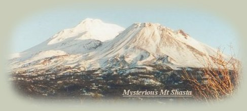 mt shasta in northern california.